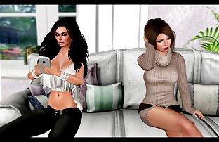 Razz- due lesbianas cinturon polla coppie en stanze por separado