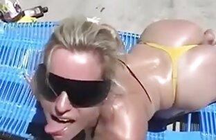 Caliente de videos pornos de lesbianas con hombres cerca follada